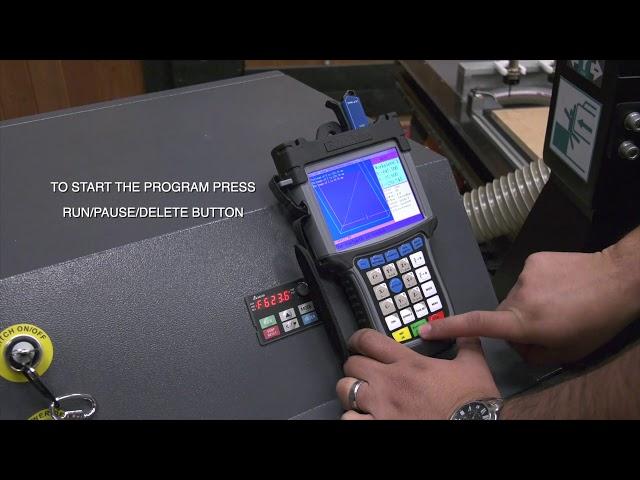 Smartshop M2 Part 4 of 5, Loading Files, Run the Flycut Program
