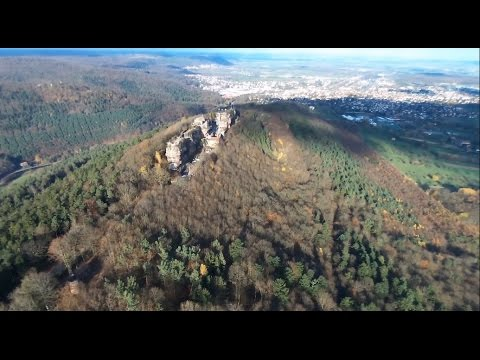 Drone Parrot Bebop - Château du Haut-Barr from YouTube · Duration:  2 minutes 33 seconds