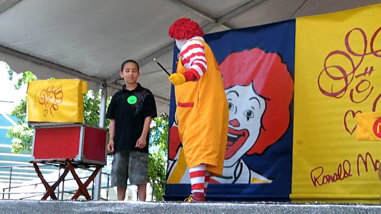 Ronald mcdonalds show in childrens festival part 1 youtube voltagebd Gallery