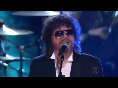 Jeff Lynne's ELO Performed Evil Woman & Mr  Blue Sky at 2015 Grammys Award ft  Ed Sheeran 1080p 30fp