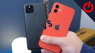 Apple iPhone 12 vs Google Pixel 5: Blind camera test!