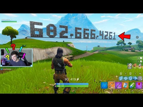 I Built my PHONE NUMBER in Squads, then the losing team CALLED ME.. (Fortnite Battle Royale)