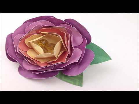 How to make a paper flower brooch with dcwv diy project stack how to make a paper flower brooch with dcwv diy project stack flowers mightylinksfo