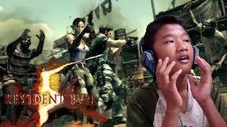 Di Keroyok Warga!!! -Resident Evil 5- Indonesia #2