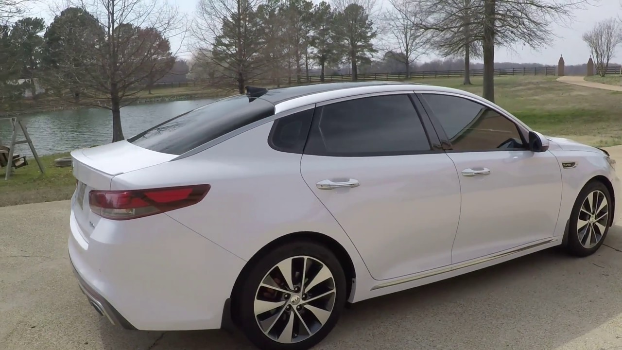 West Tn 2016 Kia Optima Sxl Turbo Snow White Used For Nav Sunroof Info Www Sunsetmotors Com