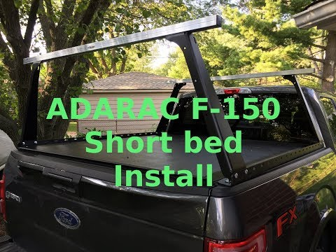 Adarac F-150 short bed install and overview