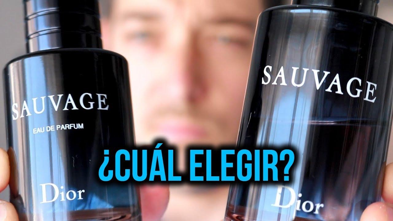 Dior Sauvage EDT vs EDP
