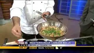 Il Mito's Mediterranean Cabbage Rolls
