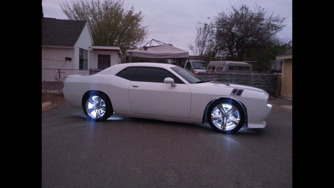 2012 Challenger Rt Custom Wheel Lights Preview Sold