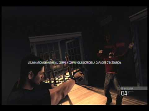 Splinter Cell Conviction Mission 1 French