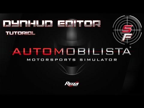 Automobilista Dynhud Editor