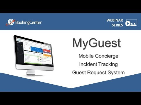 MyGuest   Mobile Concierge Tool, Incident Tracking and Guest Request System