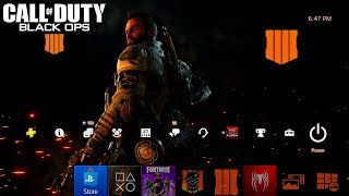 How to Download the Free New PS4 Black Ops 4 Dynamic Theme! (Black Ops 4 PS4 Theme)