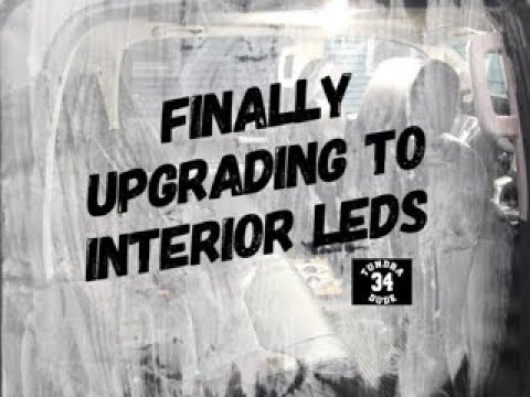 FINALLY Upgrading To Interior LEDs In My 2020 Toyota Tundra TRD Pro