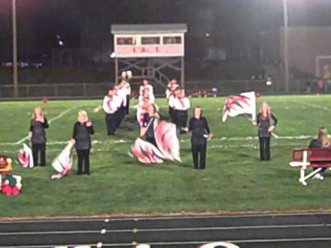 Tarkio High School Band and Color Guard