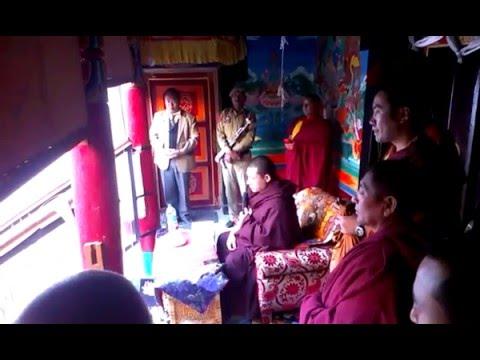 Karmapa At Stakna gompa 2