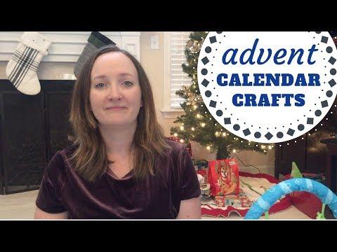 Advent Calendar Crafts for kids