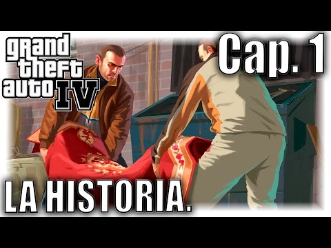 Grand Theft Auto IV - LA HISTORIA. (Cap.1) - ¡EN DIRECTO!