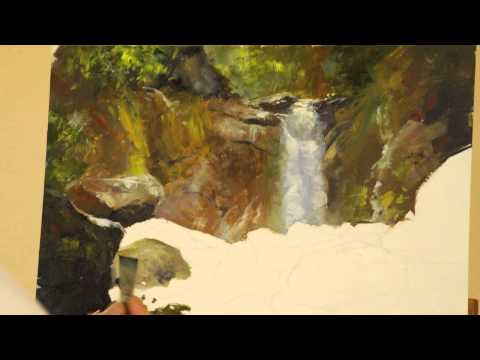 Mark Kelso Painting Demonstration [HD]