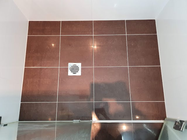 How to repair a leaking shower without removing tiles, waterproof