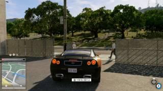 『WatchDogs2』 Ficarra Motorsでドライブ^^