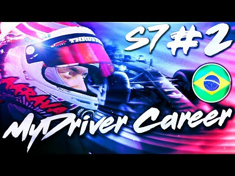 TOP 10 SCRAP ALL RACE!  - F1 MyDriver Career S7 Part 2: Brazil