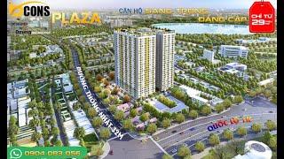 Giới Thiệu Dự Án Bcons Plaza (Bcons Quang Phúc) - Flycam toàn cảnh dự án