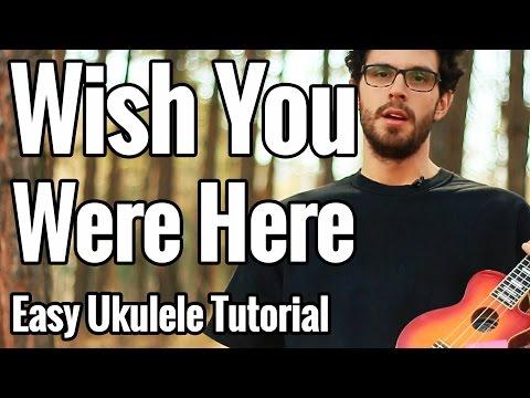 Pink Floyd - Wish You Were Here Ukulele Tutorial For Two Ukuleles