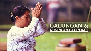 THE GALUNGAN & KUNINGAN DAY IN BALI #BaliGoLiveCulture