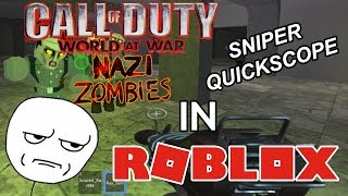 Call of Duty Zombies in Roblox?! | Ray Gun Hype! | Nacht Der Untote