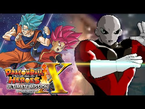 JIREN'S POWER IMPACT BLEW US ENTIRELY BACK!!! | Dragon Ball Heroes Ultimate Mission X Gameplay!