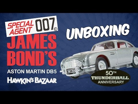 James Bond Thunderball 50th Anniversary DB5 | Unboxing
