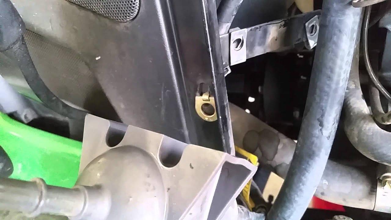 john deere x585 fuel filter replacement