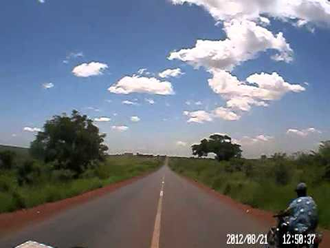 Dash cam video of Kita to Bamako (Mali) - part 3