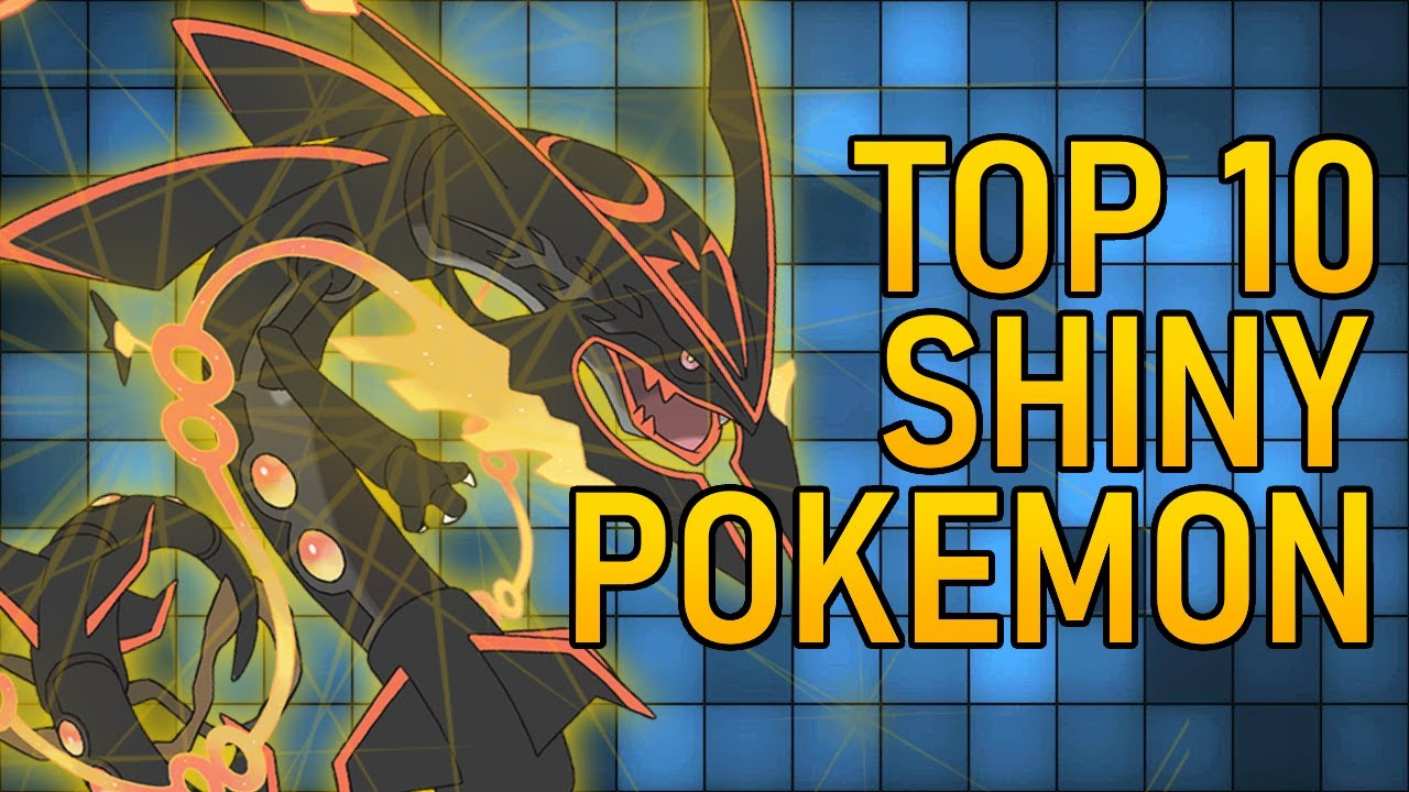 Top 10 Best Shiny Pokemon! - YouTube