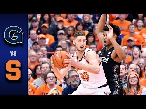 Syracuse vs. Georgetown Men