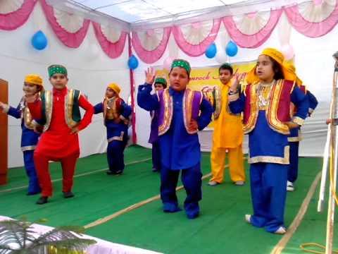 Kasmiri Dance Song Bumbro bumbro Shyam Rang Bumroo