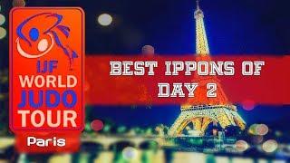 Best ippons in day 2 of Judo Grand Slam Paris 2018