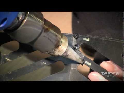 Plastic Welding with Ease » Weld and repair a Snowmobile Hood with a plastic welder