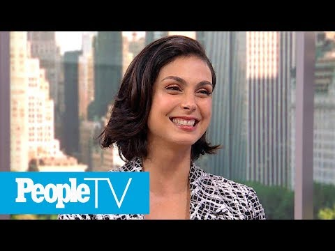 'Deadpool 2′  Star Morena Baccarin Dishes On Kissing Ryan Reynolds  PeopleTV