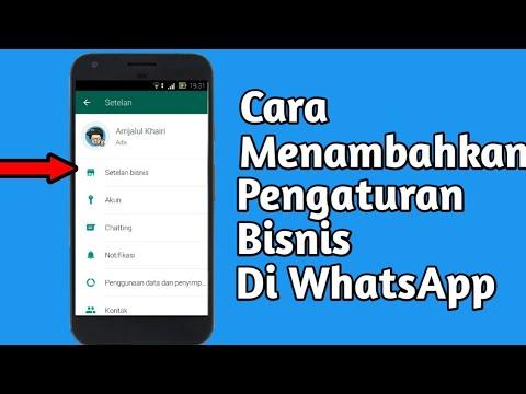 Tutorial Cara Membuat Akun Bisnis Di Whatsapp Fitur Terbaru Dari Whatsapp Youtube