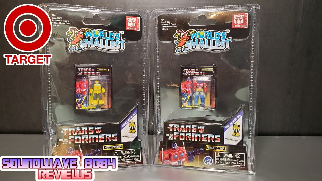 World's Smallest Transformers Optimus Prime & Bumblebee Review by Soundwave 8084