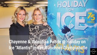 Chayenne & Valentina Pahde @ Holiday on Ice