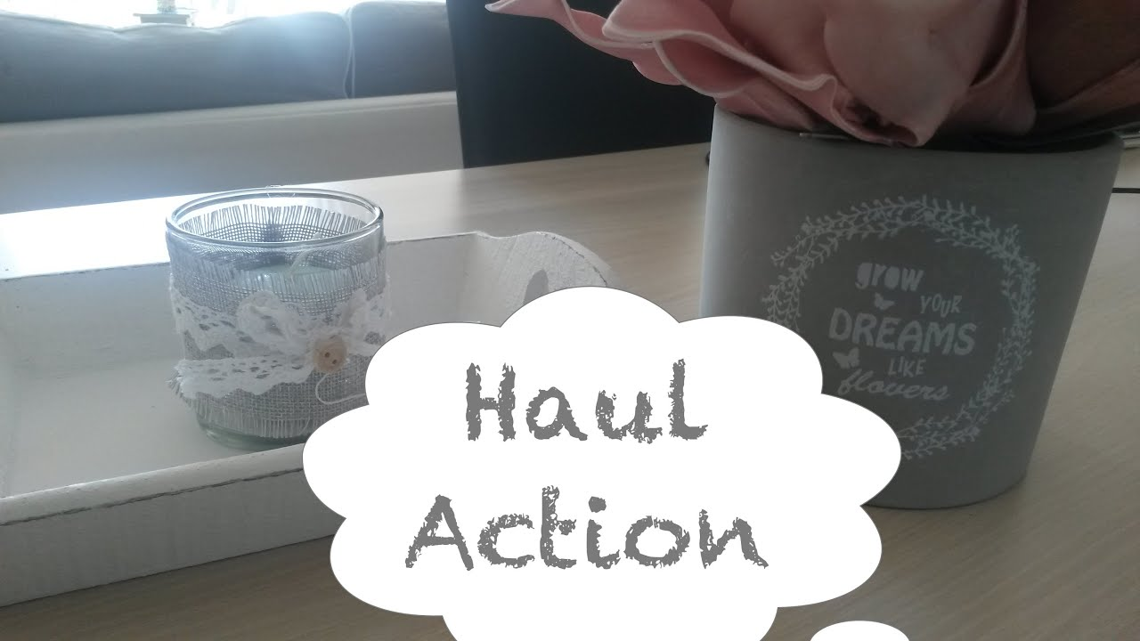 Haul action d coration pas ch re juin 2015 youtube for Decoration action