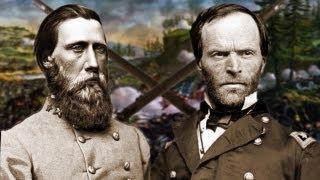Civil War - Gen. Sherman & Gen. Hood - Bitter Words - After Effects & CrazyTalk