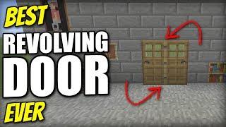 Minecraft Xbox - REVOLVING DOOR [ Best Ever ] Redstone Tutorial - PE / PS4 / PS3 / Switch