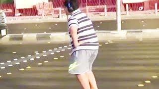 Police Arrest Macarena Dancing Boy