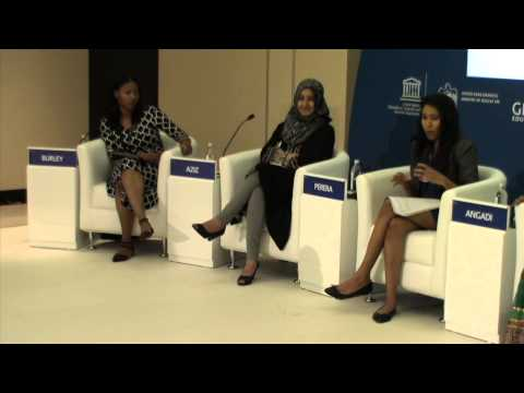 GESF 2014 Panel Discussion: Empowering adolescent girls