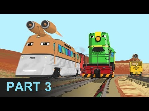 Help Shawn Stop the Jet Train - Learn Numbers at the Train Factory - Part 3