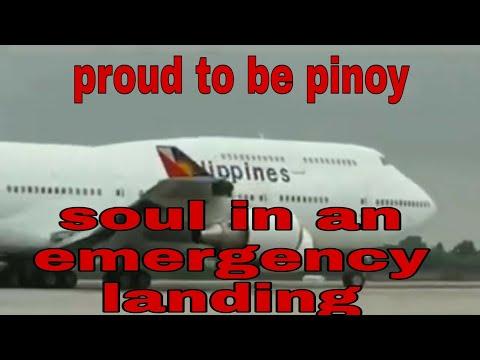 Philippines airline emergency landing